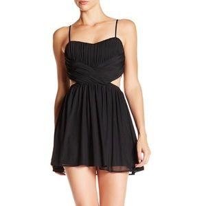Little Black Dress w. Cut Outs.